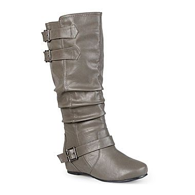 jcp | Journee Collection Tiffany Womens Slouch Riding Boots