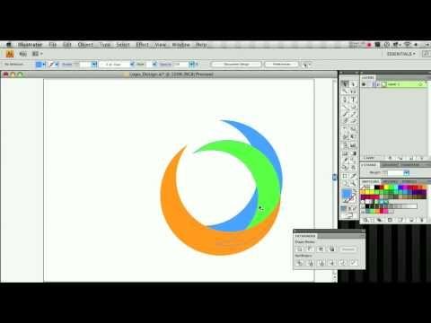 Adobe Illustrator Logo Design | Illustrator Indesign tutorials ...