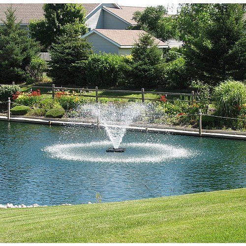 Scott Display Pond Aerator 1 Hp 230v 70ft Power Cord Model Da20 See This Great Product Solar Fountain Fountains Outdoor Pond Fountains