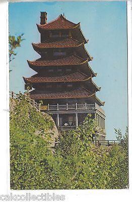 Rock Garden and Pagoda at top of Mt. Penn.-Reading,Pennsylvania