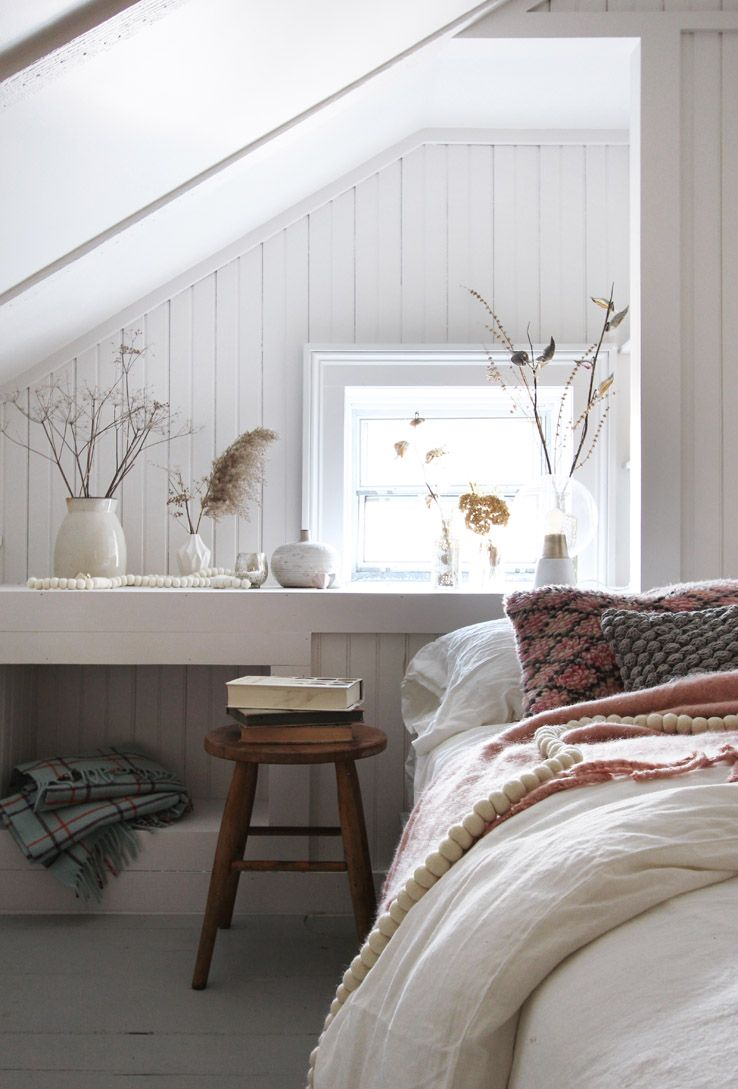 Une chambre sous combles cocooning | Chambre | Pinterest | Chambre ...