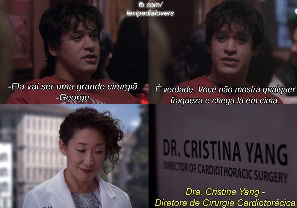Diretora De Cirurgia Cardiotoracica Cristina Yang