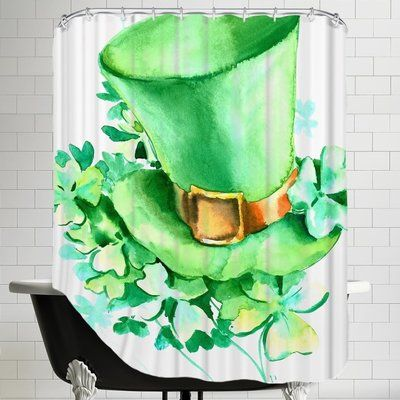 The Holiday Aisle St Patrick S Day Single Shower Curtain