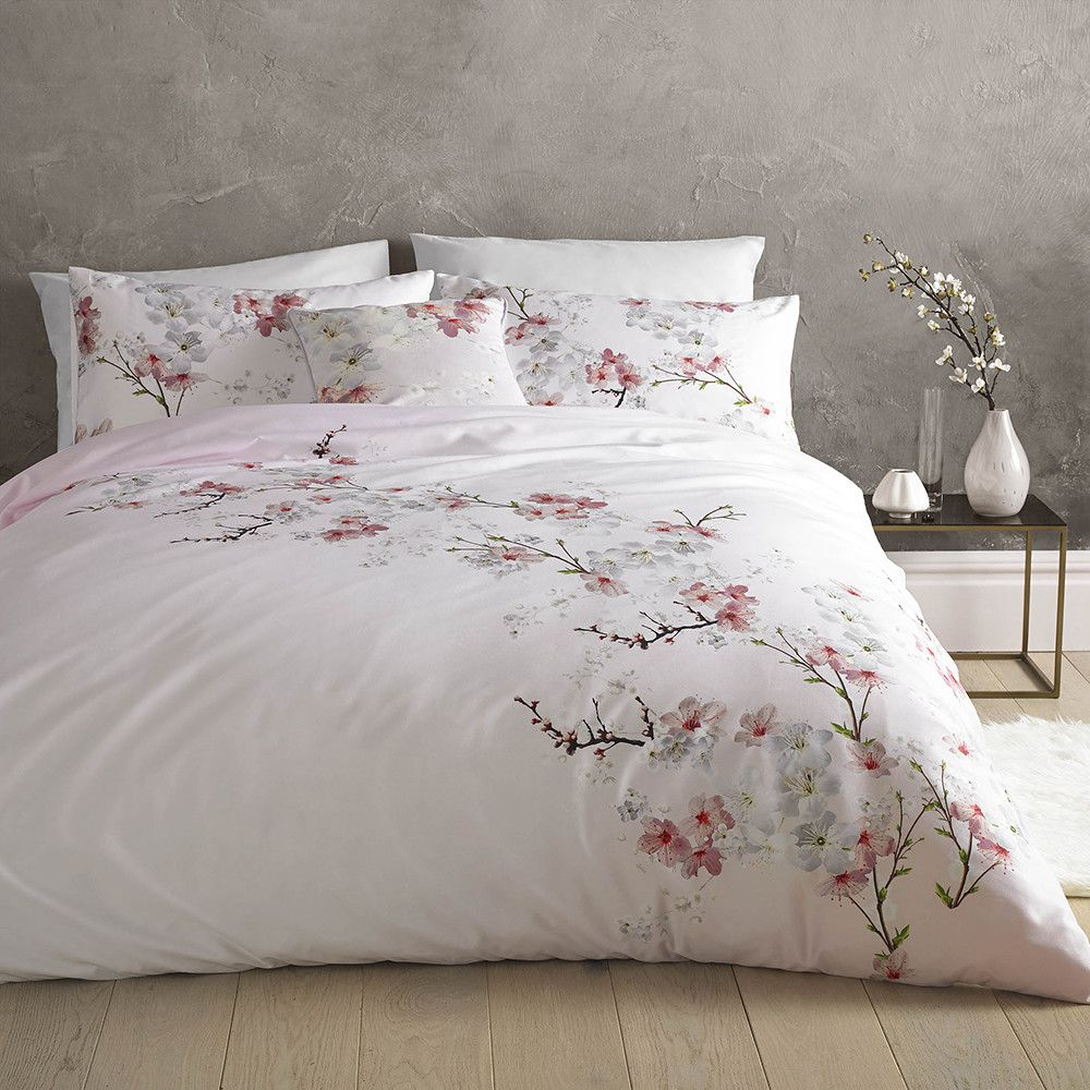 Discover The Ted Baker Oriental Blossom Duvet Cover Super King At Amara Bed Linens Luxury Bed Linen Design Luxury Bedding