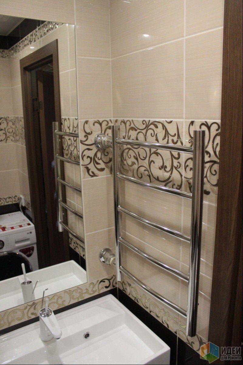 Отделка ванной фото, полотенцесушитель над раковиной ...