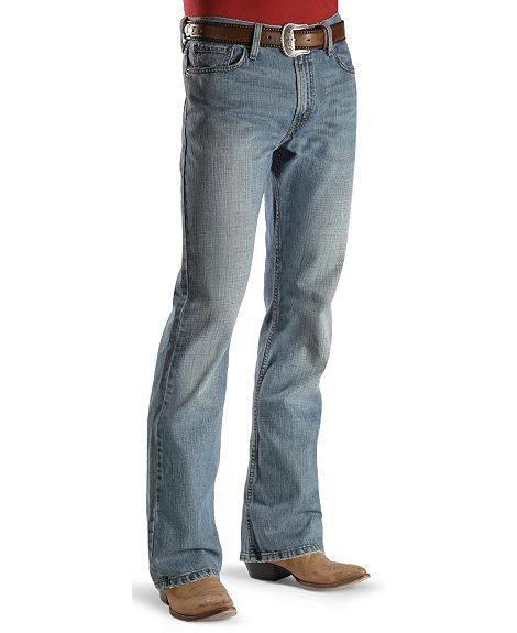 Levi's 527 Jeans - Prewashed Low Rise Boot Cut