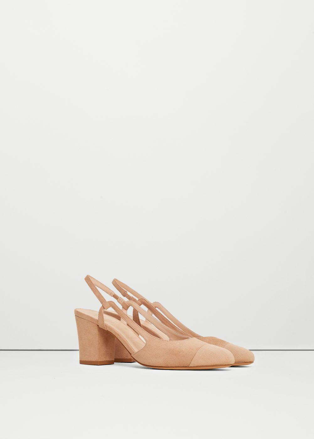 Énorme Surprise MANGO Chaussures à talons avec bride arrière Vente Frais De Port Offerts À Bas Prix Livraison Gratuite Négociables 6vyI4S
