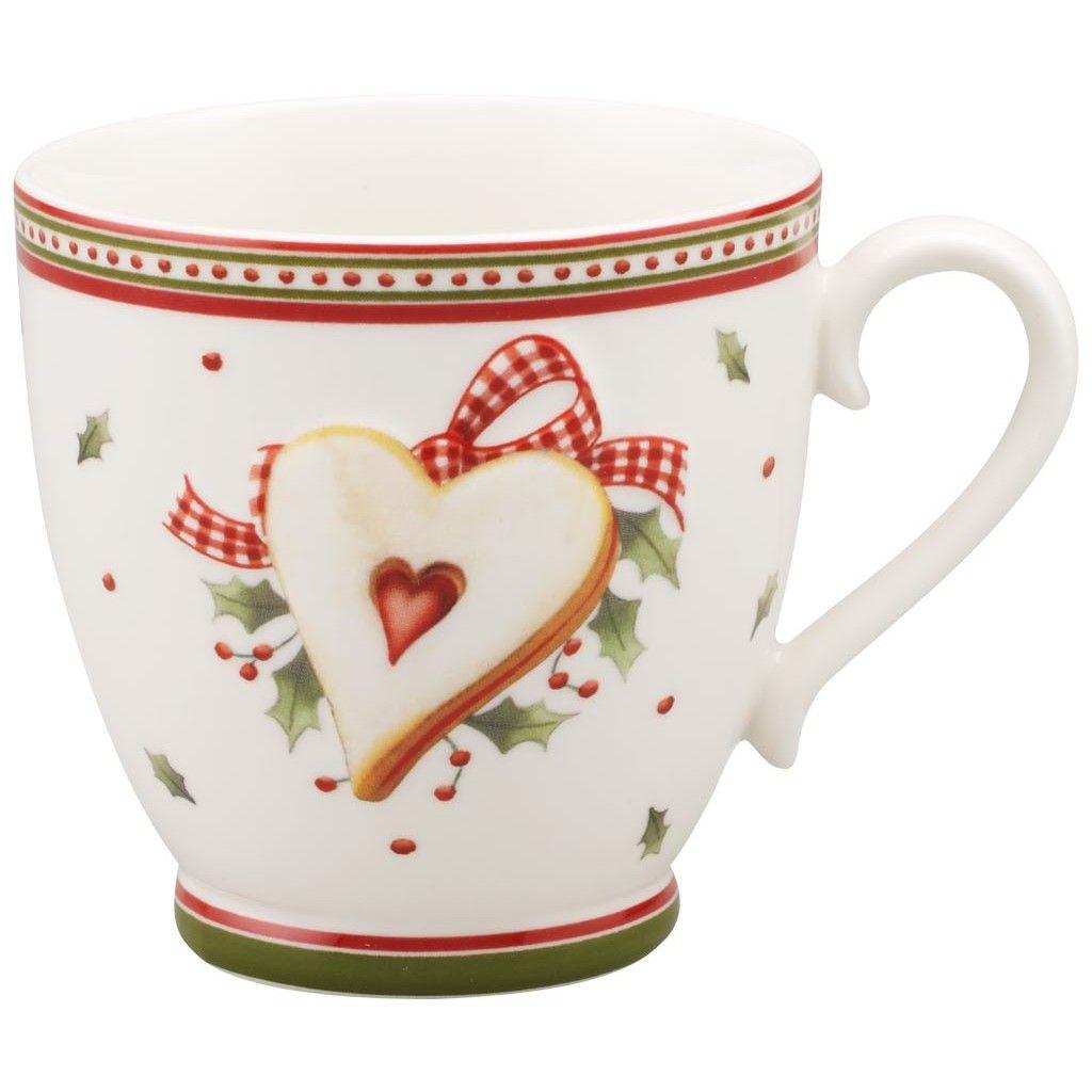 Winter Bakery Delight Tasse A Cafe Sans Soucoupe Motif Noel Vaisselle De Noel Porcelaine De Noel