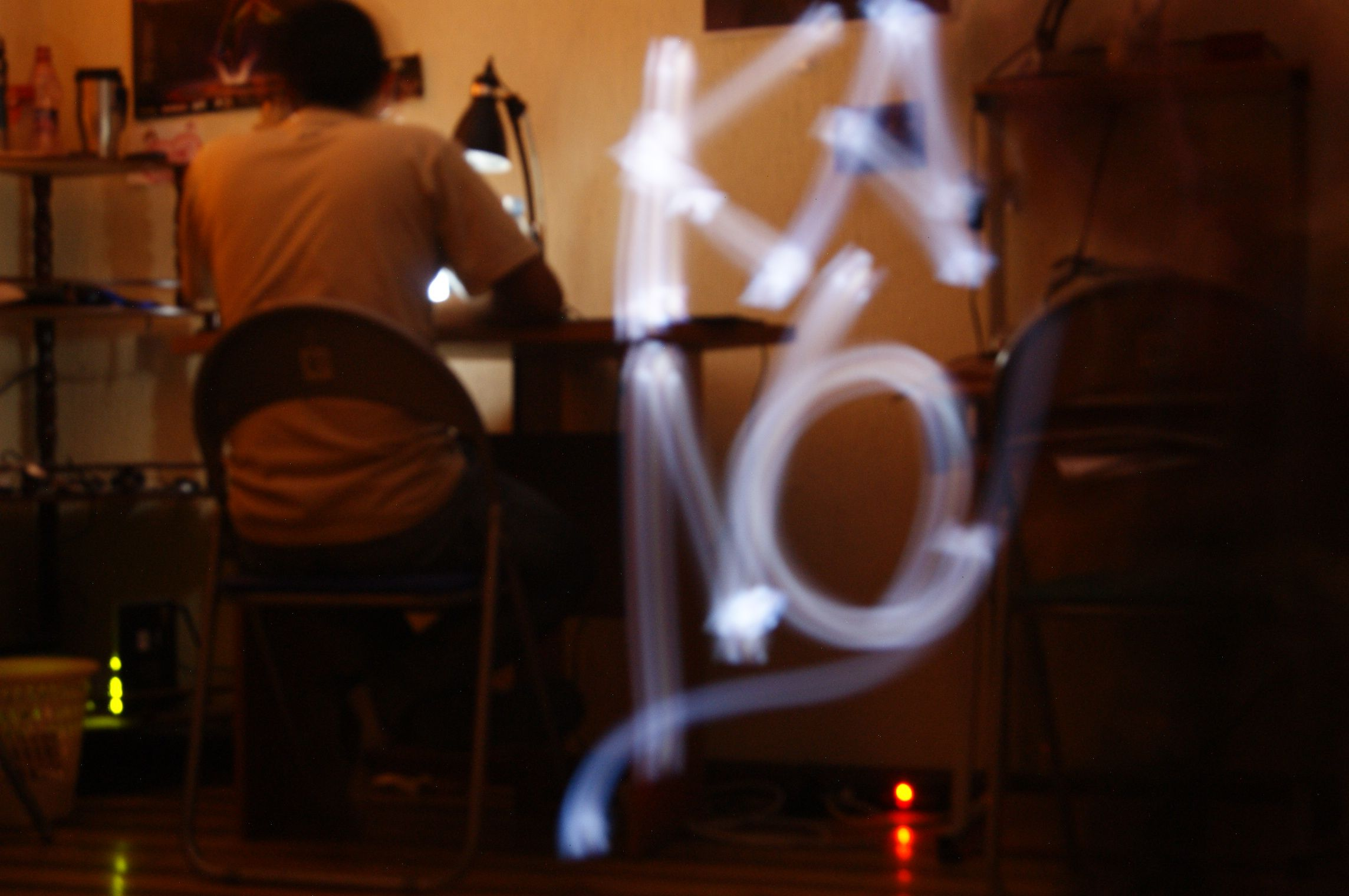 Light painting/Kano