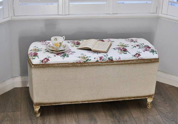 Wondrous Stunning 1970S Vintage Retro Blanket Box Vintage Ottoman Inzonedesignstudio Interior Chair Design Inzonedesignstudiocom