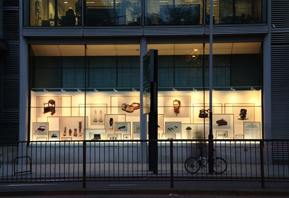 Wellcome Trust Window Installation.  Designer Shaz Madani asked us to help with her specially commissioned installation displayed in the windows of the Wellcome Trust on London's Euston Road. #graphicsonanysurface