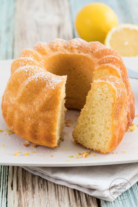 Zitronen Joghurt Gugelhupf Rezept Backen Pinterest Gugelhupf
