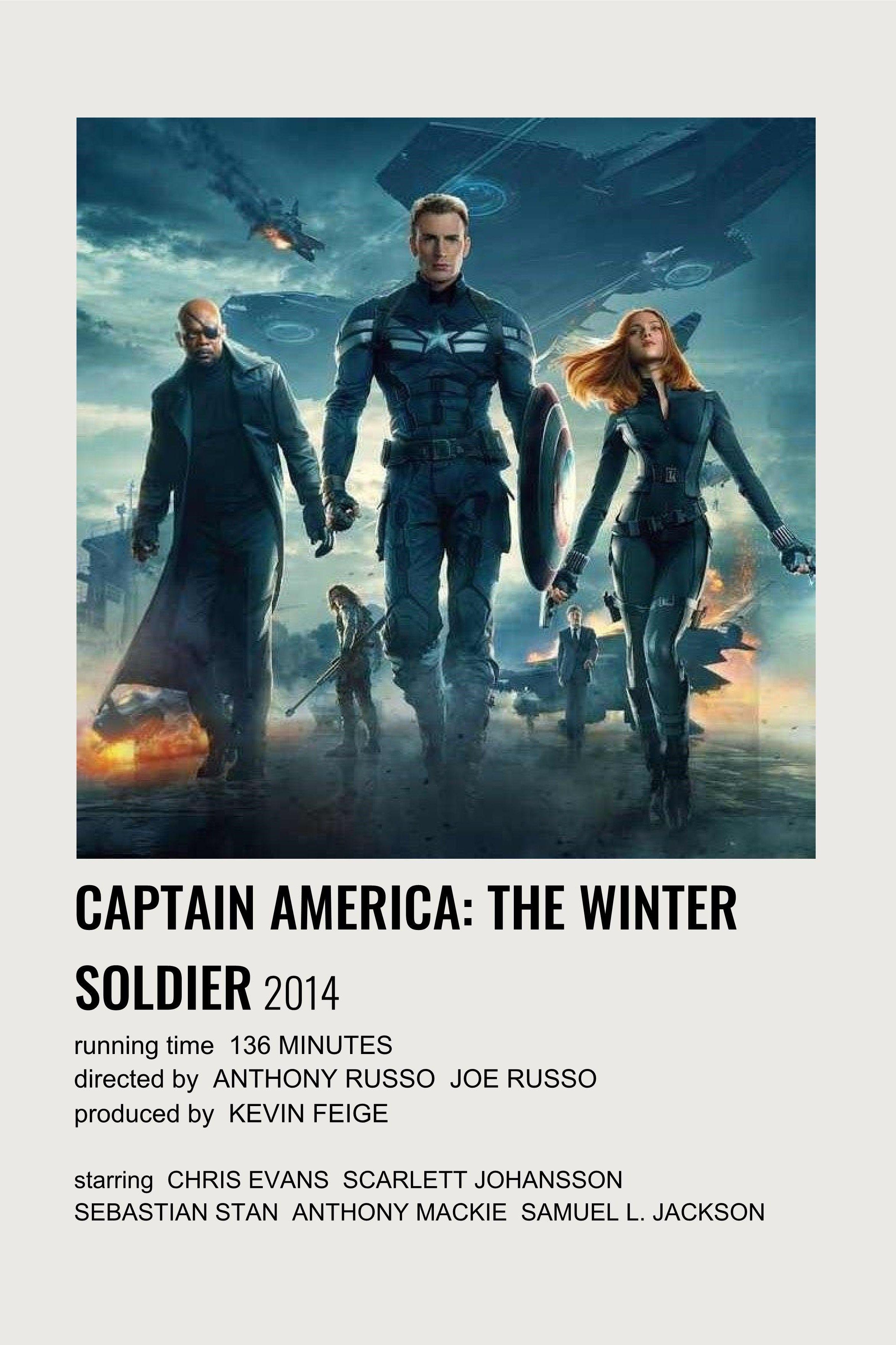 captain america: the winter soldier polaroid film poster