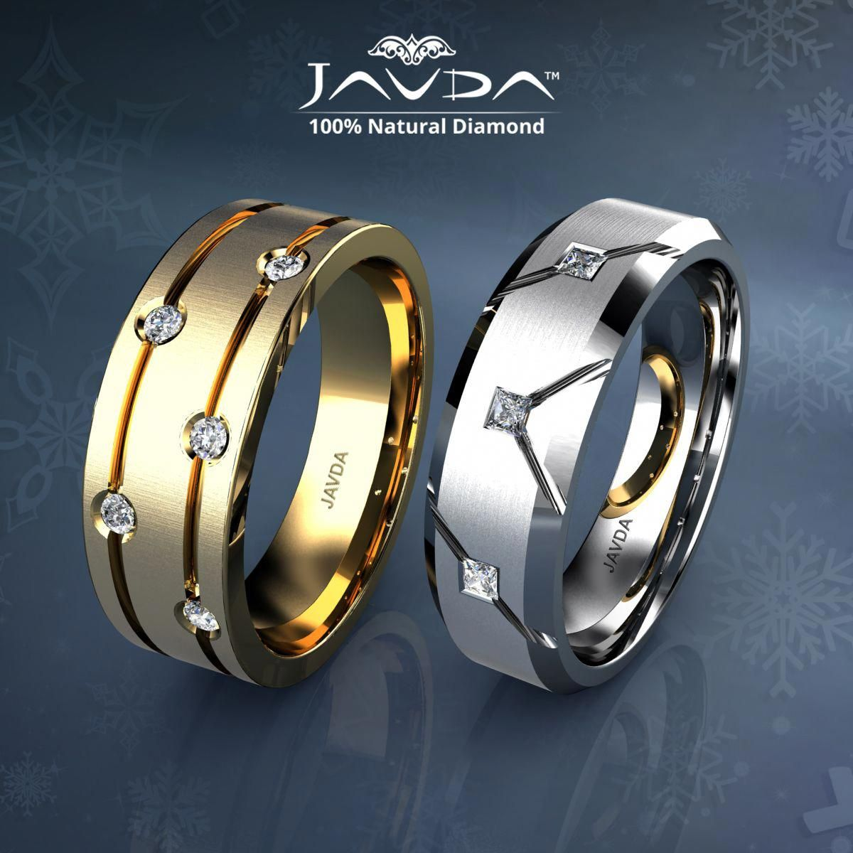 WOW solitaire wedding rings are Picture
