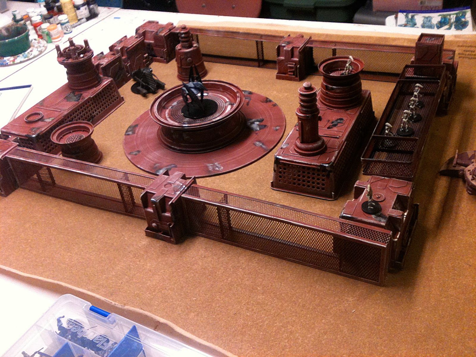 Doctor Merkury's Lab Sci Fi terrain on the Cheap