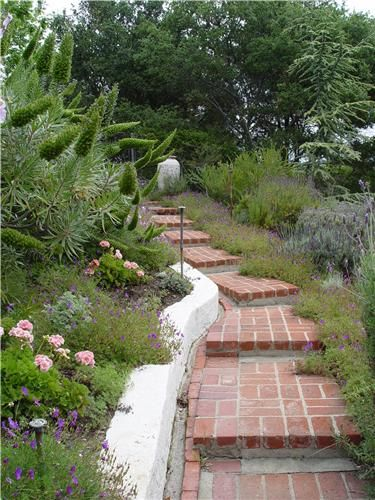 Delightful This Coastal Garden Makes Great Use Of Stairs And Terraces To Retain The  Slope While Providing Pictures