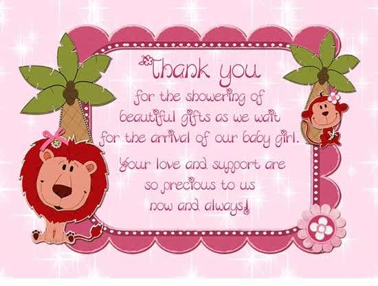 Thank You Card Message Richery Glow Baby Shower Thank You Cards Baby Shower Thank You Happy Valentines Day Card