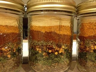 Spice Mix in a Jar-Christmas gift basket idea?