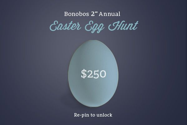 If this image gets 250 re-pins, we'll unlock a new hidden $250 promo code on www.bonobos.com or www.facebook.com/bonobos, valid for the first person who find it!