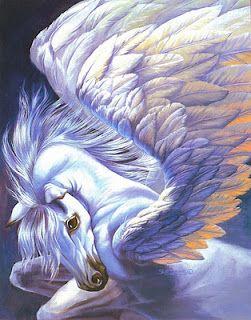 Detailed pegasus, how beautiful........