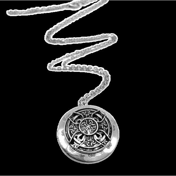 Celtic Knot Essential Oil Necklace