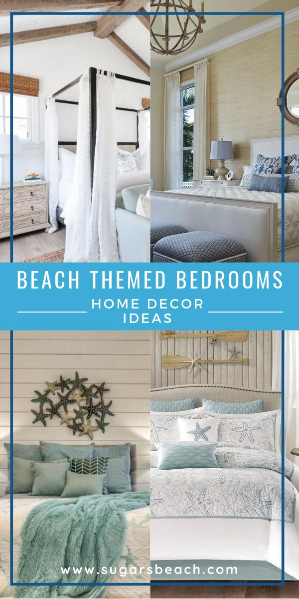 Beach Themed Bedrooms Ideas | Let\'s go to the Beach! | Beach ...