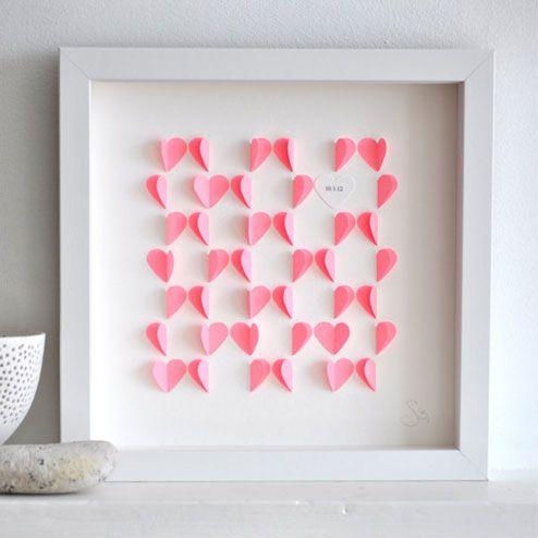 Super 024 Des idées cadeaux DIY pour Mamie Chérie | Coeur en papier  ZZ81