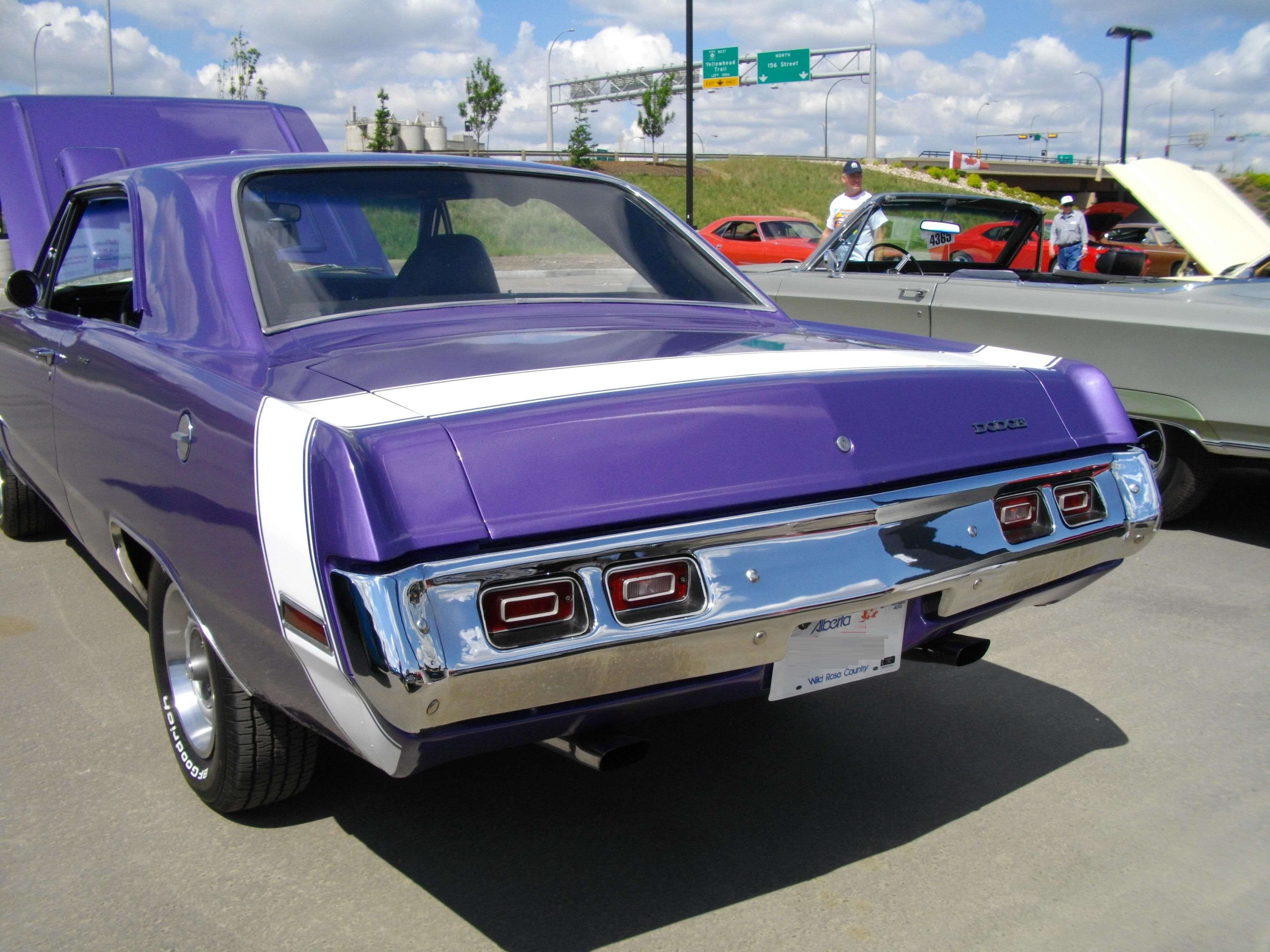 Plum crazy 1971 dodge dart swinger