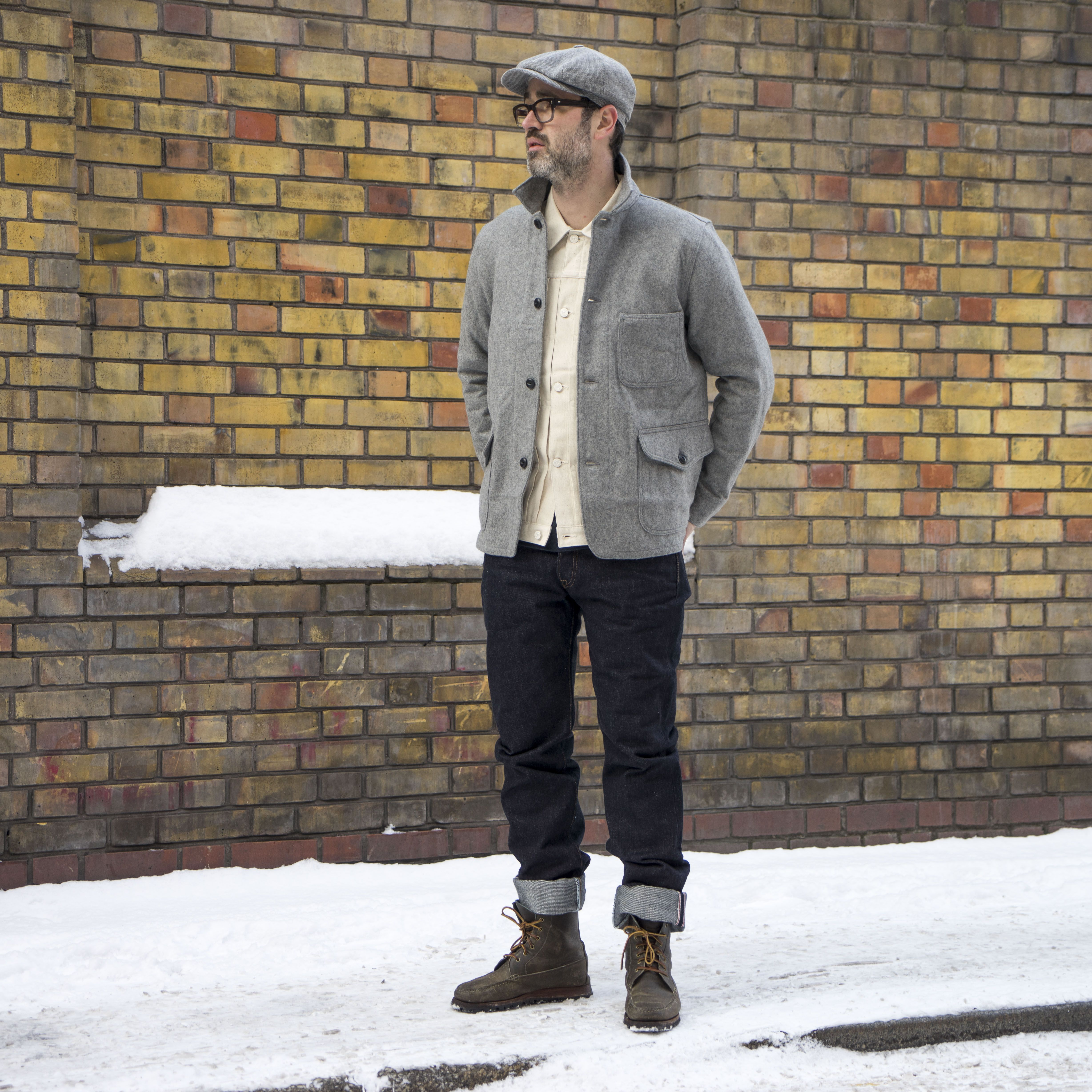 Ivo is wearing the freshly arrived Stetson Ellington flat cap for warm  thoughts. Warehouse  dbcf81868214