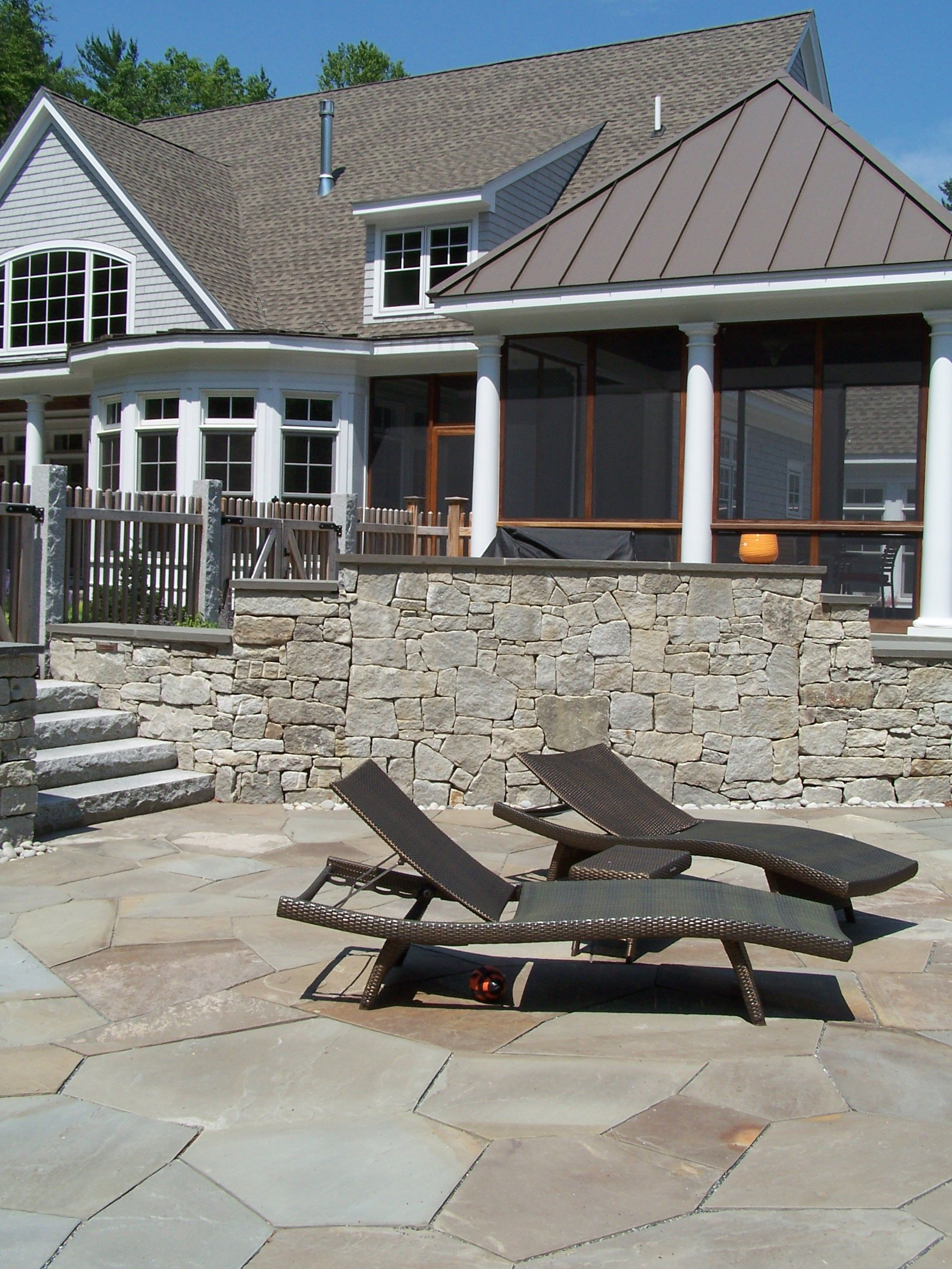 Surround Yourself In Natural Stone Granite Steps Natural