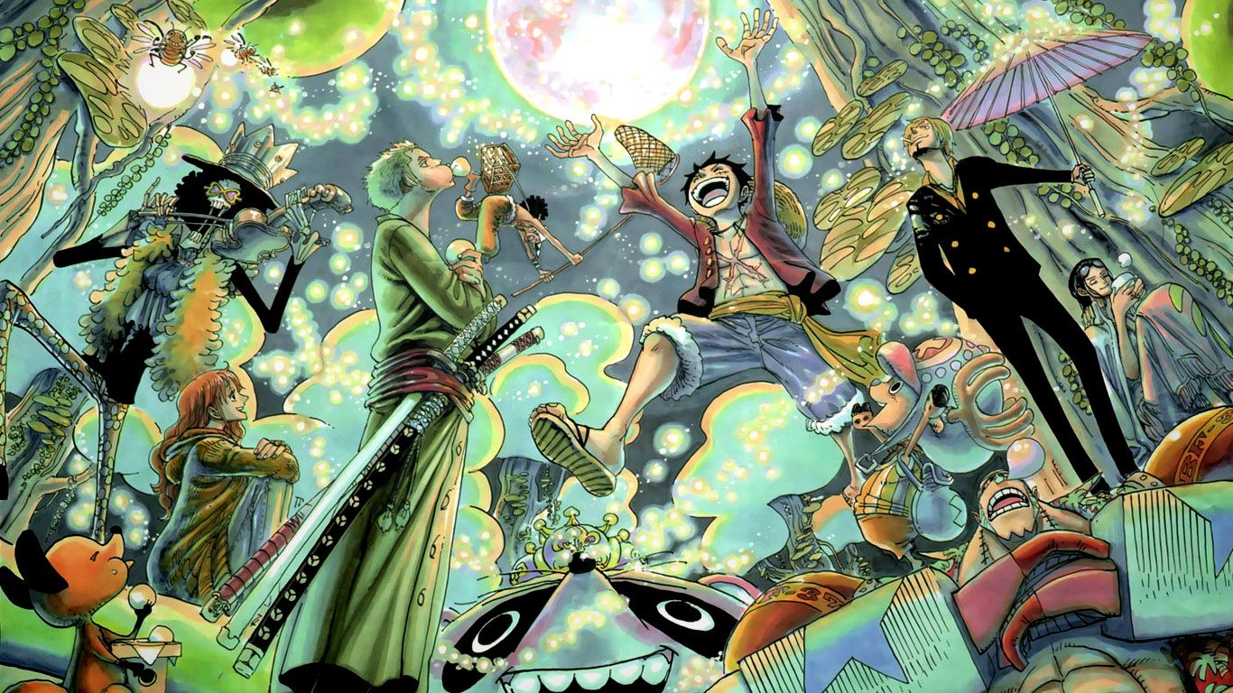 One Piece New World Wallpaper 1366x768 One piece new world