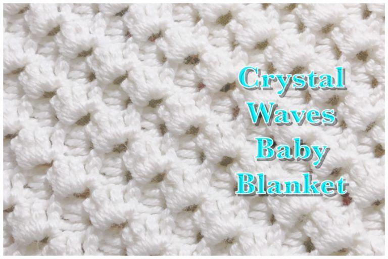 816 Baby Rose Blanket Afghan Crochet Pattern