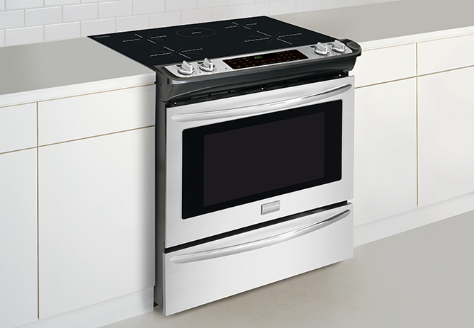 Fgis3065pf By Frigidaire Electric Ranges Goedekers Com With Images Induction Range Frigidaire Gallery Stove Repair