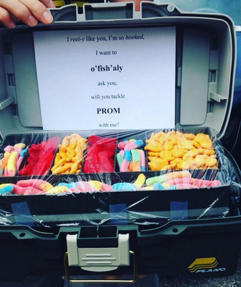Candy Tackle Box Prom Idea Prom In 2019 Prom Cute