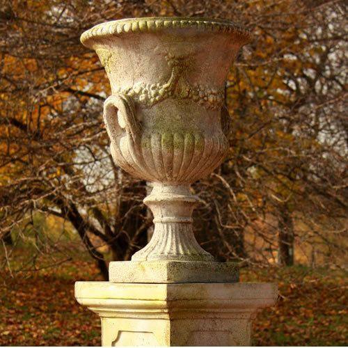 Cadmus Garden Urn Planter by Orlandi Statuary Made of Fiberstone24 HFS60264 is part of Home Made garden Planters -