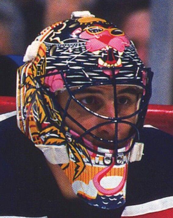 Roberto Luongo Pink Panther Florida Panthers Mask Goalie Masks