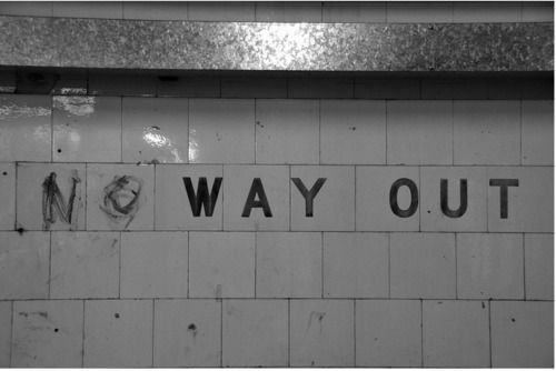 Image result for no way out tumblr