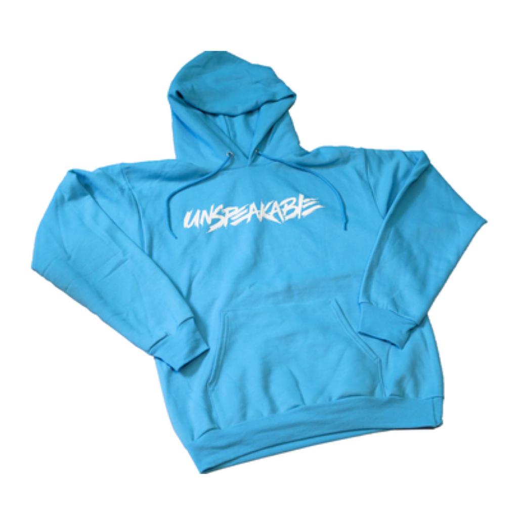 Unspeakable Adult Hoodie Aquatic Blue Unspeakablegaming