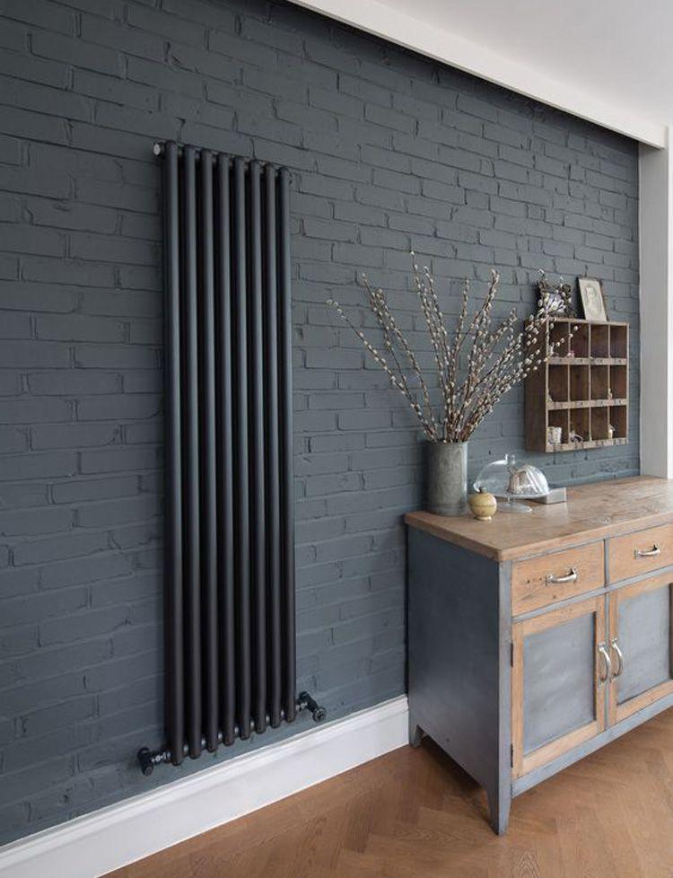 Grijze designradiator woonkamer - Ideetjes | Pinterest - Huiskamer ...
