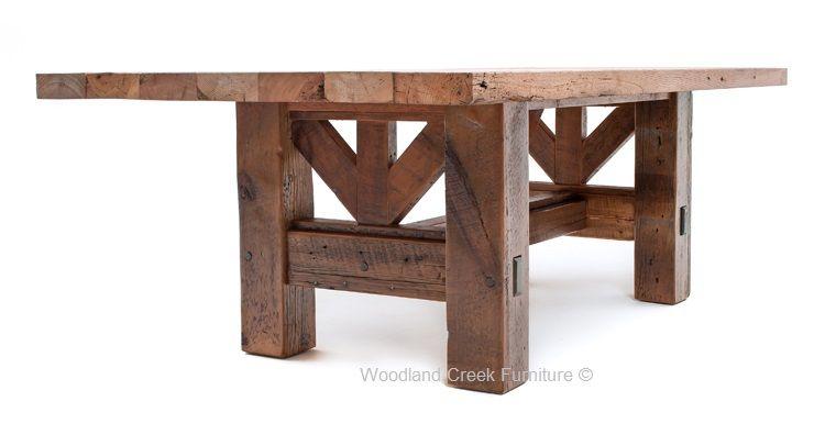 Table Timber Frame Design 2 a DIY Pinterest Harvest tables