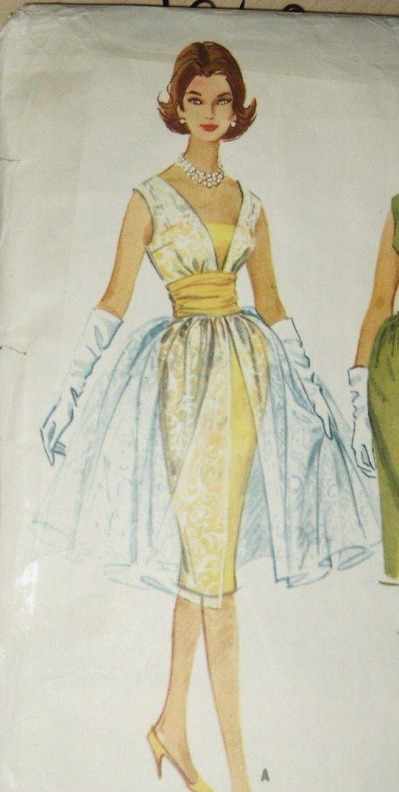 1960s Style Evening Dresses