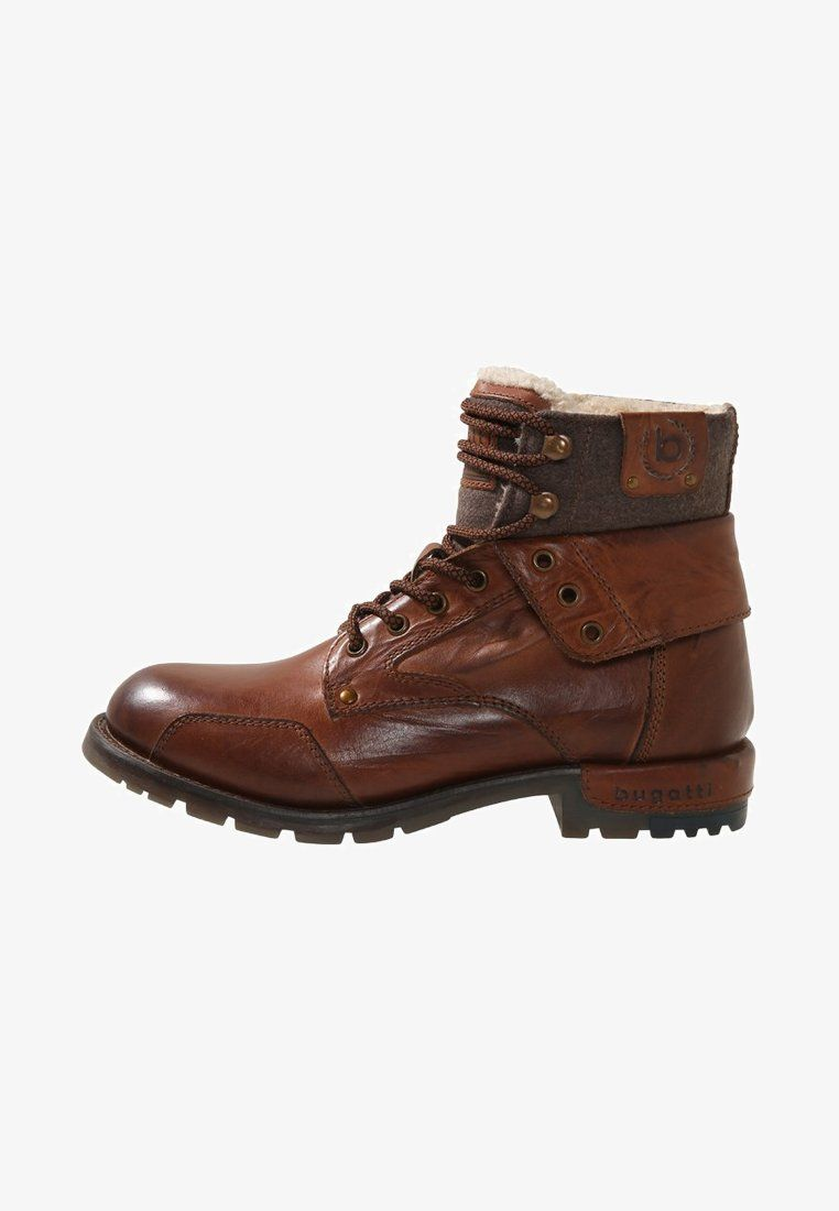 check out 58d69 ef593 SENTRA - Lace-up ankle boots - cognac @ Zalando.co.uk 🛒 in ...