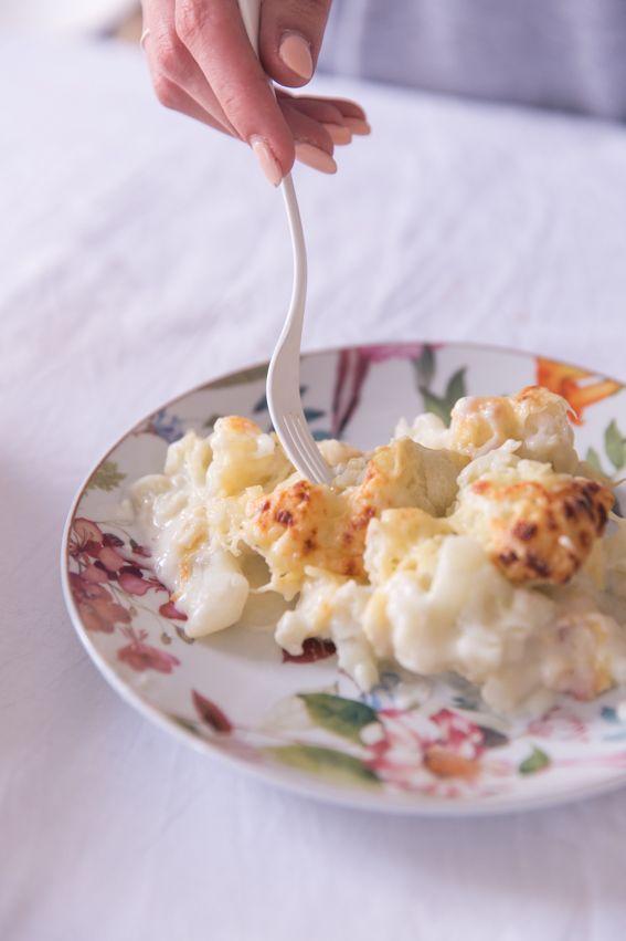 recette gratin de choux fleurs facile