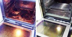 limpiar el horno con bicarbonato y vinagre!!!