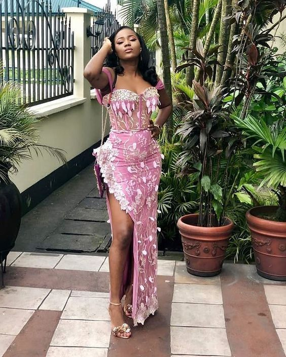 2019 Latest Beautiful Asoebi Styles for Events #nigeriandressstyles