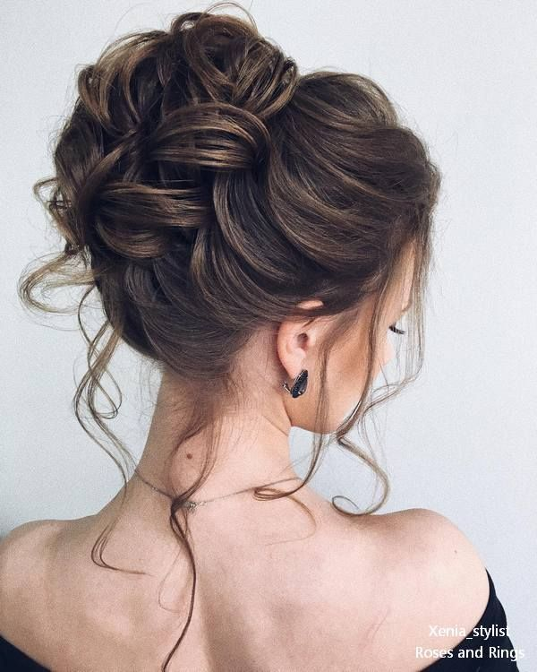 30 Stunning Wedding Hairstyles by Xenia_stylist, #BrideHairModels #Brautfo ...,  #Brautfo #Br... #messyupdos