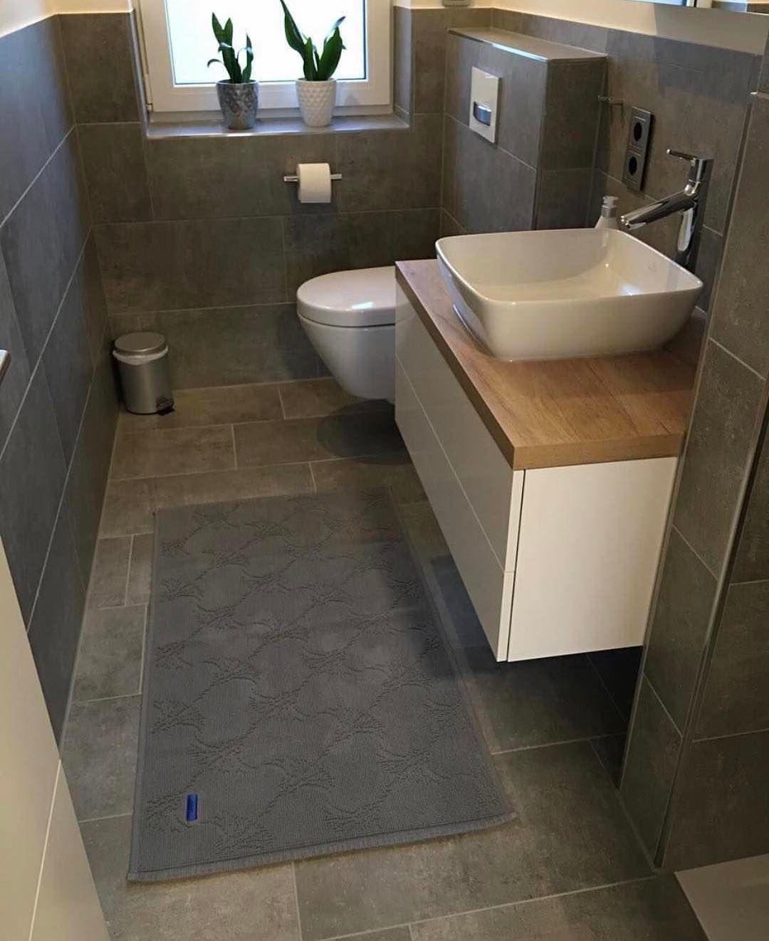 Gefallt 581 Mal 7 Kommentare Larasherz Larasherz Auf Instagram Blick Ins Gastebad Gastebad Villeroyboch V Bathroom Toilet Bathroom Vanity