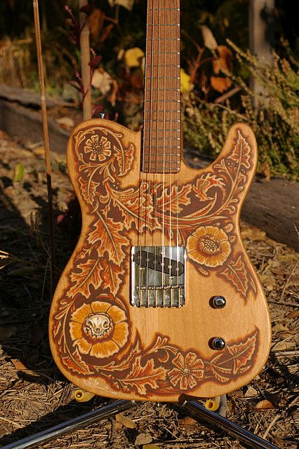 handpainted Bolin guitar | Flickr - Photo Sharing!
