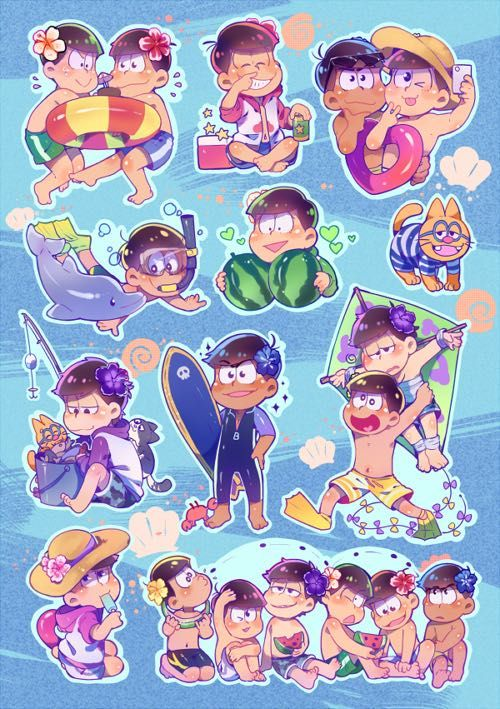 #wattpad #fanfiction This is the third book of oneshots for Osomatsu-san. Open for requests. I hope you enjoy it.