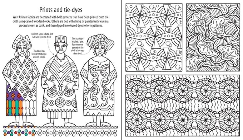 african patterns coloring pages - photo#9